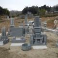 K様・津山型9寸角布団四重台「代々墓」及び6寸角供養塔二重台