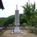 新龍寺様:十三重の塔(13尺)工事