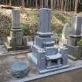 赤木家様:津山型9寸角布団四重台 夫婦墓