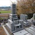 大鎌家様:津山型9寸角布団四重台 代々墓工事