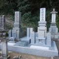 有國家様:津山型1尺角布団四重台及び既存墓石の傾き直し