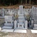 清水家様:津山型1尺角布団四重台代々墓及び既存墓石据替工事