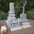 神田家様:津山型9寸角布団四重台 代々墓工事