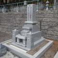 石原家様:津山型9寸角布団四重台・夫婦墓