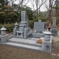 安藤家様:津山型9寸角布団四重台代々墓及び関東型外柵工事