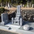 小西家様:津山型9寸角布団四重台・代々墓工事