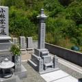 小林家様:6寸角供養塔三重台及び既存墓石寄墓工事