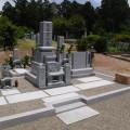後藤家様:津山型9寸角布団四重台代々墓及び巻石(本研磨)工事