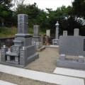 今岡家様:津山型9寸角布団代々墓・6寸角供養塔・寄墓工事