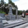水杉家様:津山型1尺角逆華蓮華四重台代々墓・関東型外柵工事