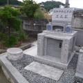 森元家様:デザイン墓石【禅】地上納骨型