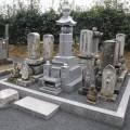 影山家様:7寸角供養塔3重台及び巻石(本研磨)寄墓工事