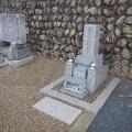 関元家様  7寸角2重台・巻石・地蔵尊及び墓石整理工事
