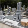 西田家様 津山型8寸角布団三重台 墓石工事