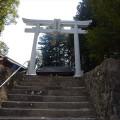 摩賀多神社様 12尺八幡鳥居工事
