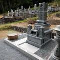 小林家様 1尺角布団2重台地上納骨型代々墓工事
