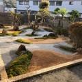妙勝寺様の中庭を作庭中です(^^♪