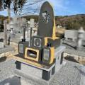 岡山県北に4基目となる伊達冠石の自然石碑が誕生しました